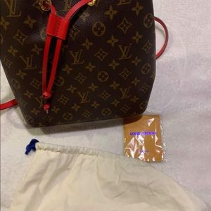 Refurbished/Reglazed Louis Vuitton Bucket Bag!